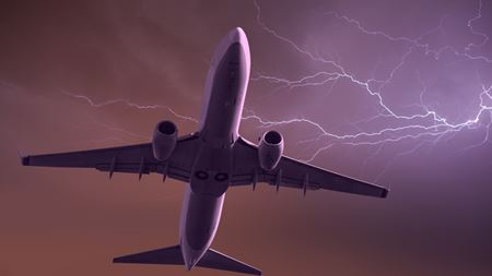 Protecting planes from lightning strikes