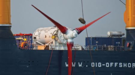 ANDRITZ HYDRO Hammerfest tidal turbine features composite blades