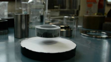 Putting the squeeze on record-breaking superconductors