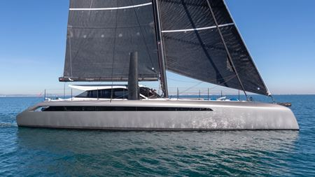Range of carbon fiber materials for yacht
