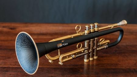 Composite trumpet bell is music to one's ears