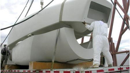MFG supplies replacement composite parts for wind turbines