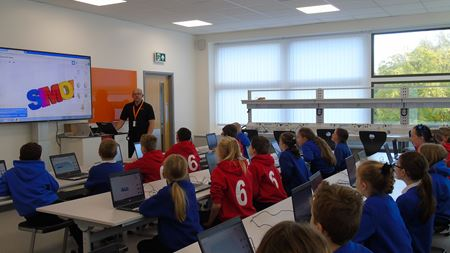 Renishaw promotes engineering to UK schools