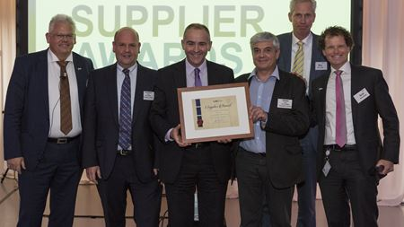 Scott Bader wins supplier award