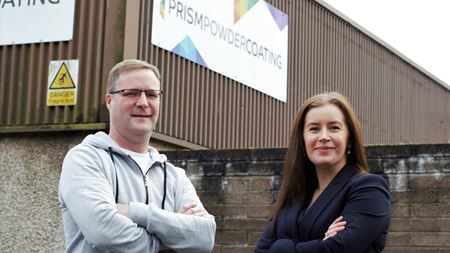 New powder coating business in Scotland