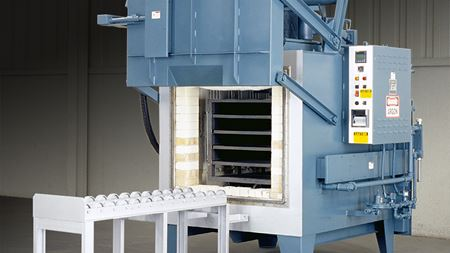 Heavy-duty box furnace for titanium processing