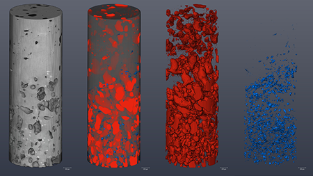 Advanced microCT for non-destructive material characterization