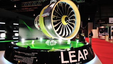 SKF supplies bearings for next-generation aircraft engines