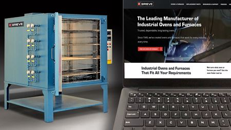 Furnace manufacturer launches new website
