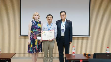 Presentation of 13th Feng Xinde Prize for the Best Chinese Paper Published in Polymer in 2018