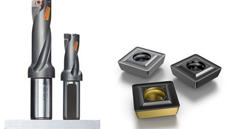 Sandvik Coromant extends indexable insert drill capabilities