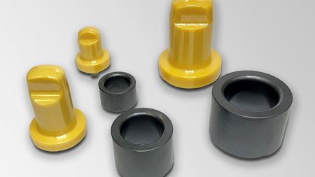 Ceramic bearings suitable for food and pharma production