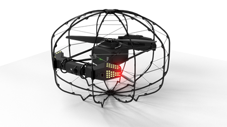 Composite materials for inspection drone