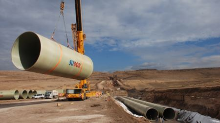 Subor supplies GRP pipe for Turkish irrigation project