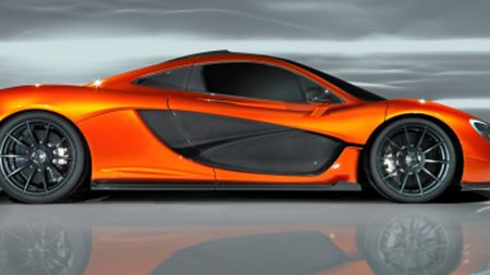 McLaren P1 debuts at Paris Motor Show