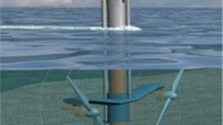 Tidal turbine features composite rotors