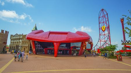Spanish theme park features FRP cladding