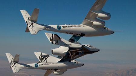 Virgin Galactic space vehicles get FAA launch permit