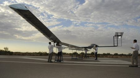 Zephyr solar aircraft achieves longest unmanned flight