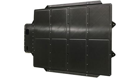 Lightweight composite battery enclosures