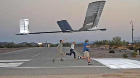 Solar-powered UAV takes flight