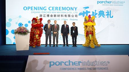 Porcher Industries opens China facility