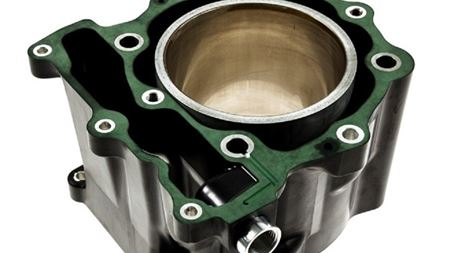 Composite future for cylinder housings