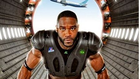 Russell Athletic introduces American football shoulder pad system made with Boeing 787 carbon fibre