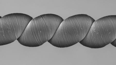Electricity on the go with stretchy carbon nanotube yarns