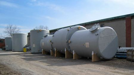 Composite tanks supplied to New York filtration plant