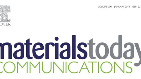 Introducing Materials Today Communications