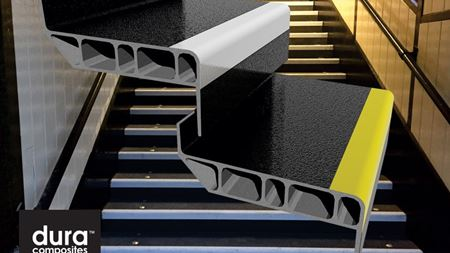 Composite stair treads win design award