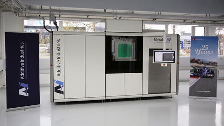 3D printer supplied to F1 team