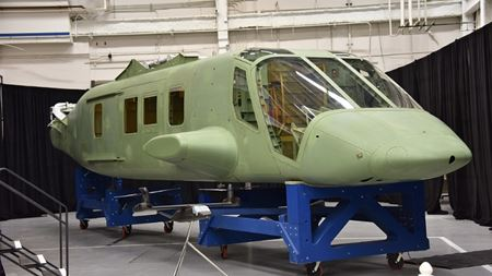 Spirit AeroSystems completes first composite fuselage for Bell V-280