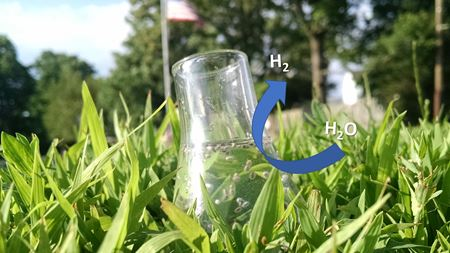 Gold star for novel hydrogen-producing photocatalyst