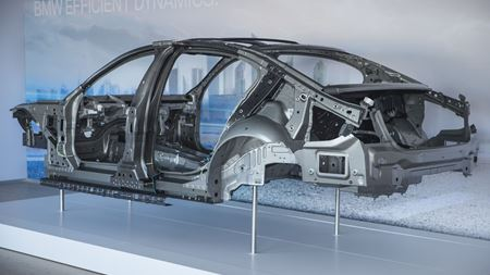 Carbon fiber integrated into large-scale car production
