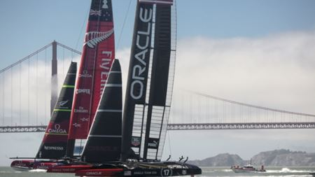 Carbon fibre reinforcements bring success in America's Cup