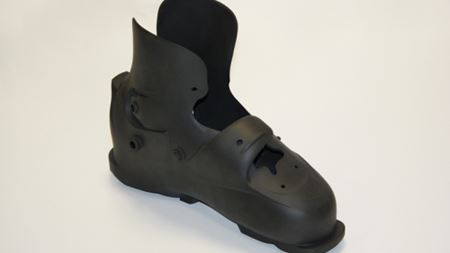 Award-winning 3D printed skiboot is a better fit