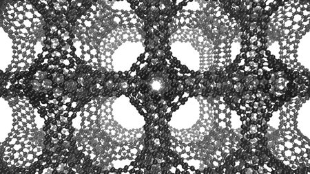 Long-sought carbon nanomaterial found in zeolite pores