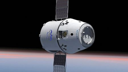 Fibersim helps SpaceX manufacture composite parts for Dragon spacecraft