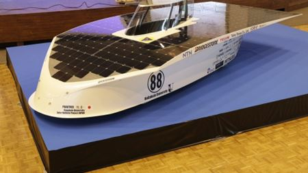 Toho Tenax carbon fibre used to manufacture solar car