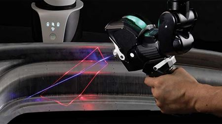 Laser scanner designed for high-speed measurement