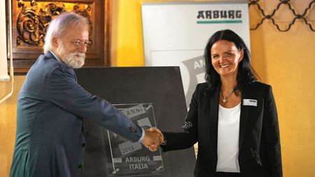 Arburg Italy celebrates 25 years