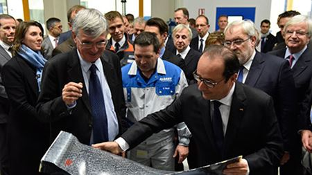 Inauguration of new Safran/Albany plant