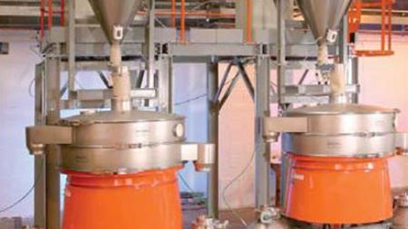 New separators for tin atomising system