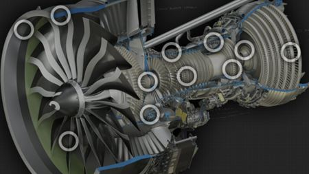 GE Aviation starts testing GE9X composite fan blades