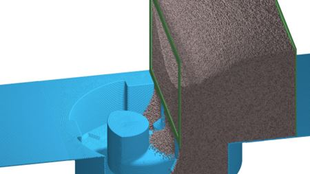 Simulation improves powder distribution