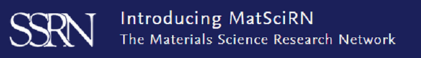 Introducing the MatSciRn – the Materials Science Research Network