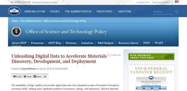 The Materials Science and Engineering Data Challenge