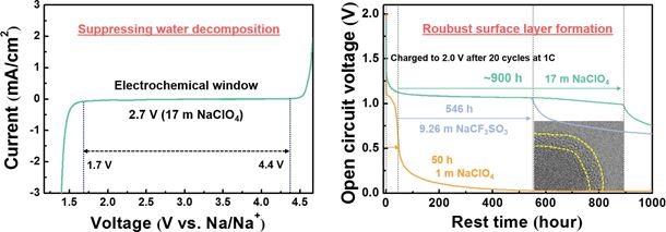 Toward a low-cost high-voltage sodium aqueous rechargeable battery